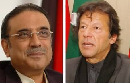 Asif Zardari! Come to My Container and See Where the Money is Coming From - Imran Khan