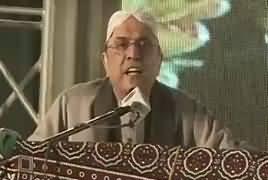 Asif Zardari Speech In PPP Hyderabad Jalsa - 15th December 2018