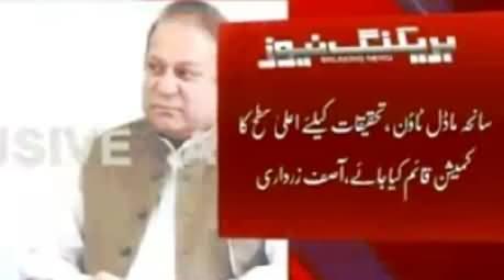 Asif Zardari Suggests Nawaz Sharif Not to Resign: Nawaz Zardari Meeting Updates