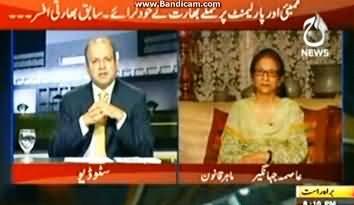 Asma Jahangir and Najam Sethi Still Insisting that Mumbai Attacks Were Done By Pakistan