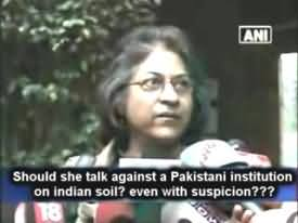 Asma Jahangir Exposed As Traitor of Pakistan - Watch Asma Jahangir Statement About Mumbai Attacks