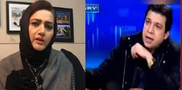 Asma Shirazi Analysis on Faisal Vawda Bringing Boot in Talk Show