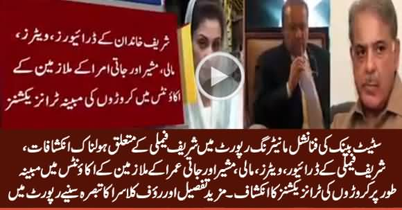 Astonishing Report of State Bank About Sharif Family's Alleged Corruption, Listen Rauf Klasra Analysis