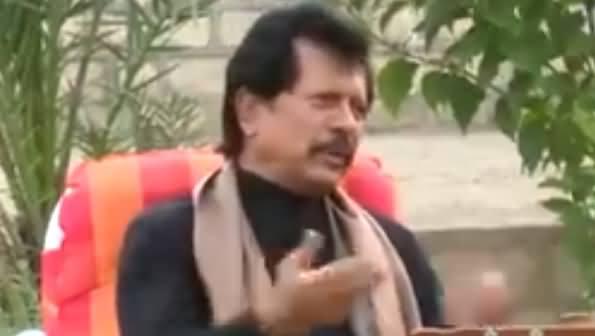 Ataullah Esa Khelvi Expressing His Thoughts About Imran Khan