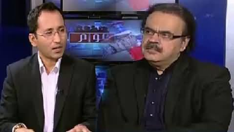 Awaam (Dr. Shahid Masood Exclusive Interview) – 11th June 2016