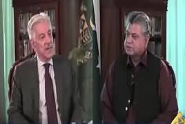 Awaam (Khawaja Asif Exclusive Interview) – 10th October 2017