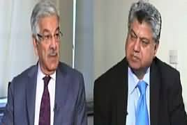 Awaam (Khawaja Asif Exclusive Interview) – 9th January 2017
