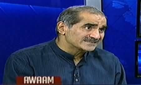 Awaam (Khawaja Saad Rafique Exclusive Interview) – 12th July 2014