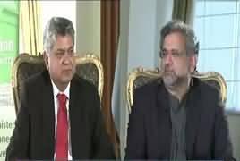 Awaam (PM Shahid Khaqan Abbasi Exclusive Interview) – 10th January 2018