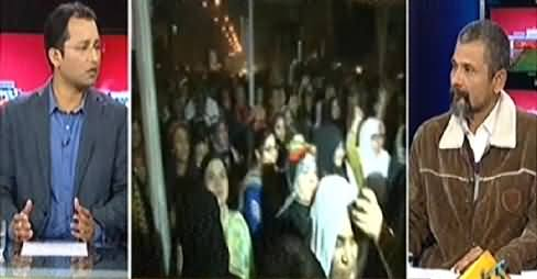 Awaam (PTI Protest in Karachi, What Should Govt Do?) - 12th December 2014