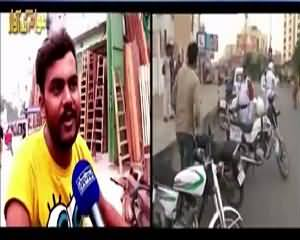 Awam Ki Awaz (Bike Walon Ko Fast Speeding Se Kaise Roka Jaye) – 11th August 2015