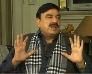 Awam (Sheikh Rasheed Ahmad Exclusive Interview) - 1st December 2013