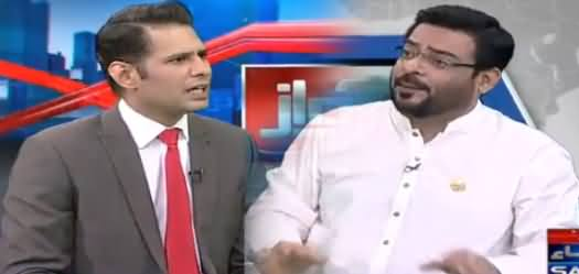 Awaz (Amir Liaquat Exclusive Interview After Joining PTI) - 19th March 2018