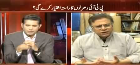 Awaz (Hassan Nisar Exclusive Interview) - 5th May 2016