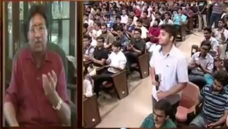 Awaz (Pervez Musharraf Facing Students) – 23rd September 2015