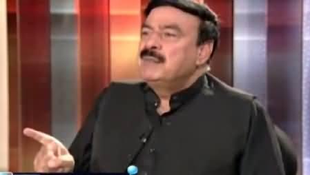 Awaz (Sheikh Rasheed Ahmad Exclusive Interview) – 10th June 2015