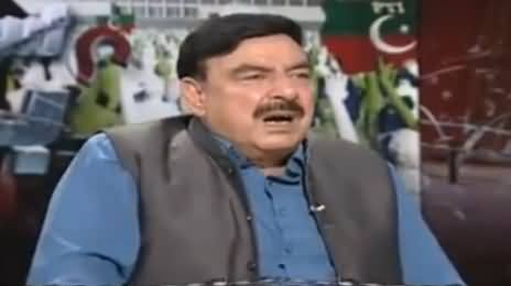 Awaz (Sheikh Rasheed Ahmad Exclusive Interview) - 31st October 2016