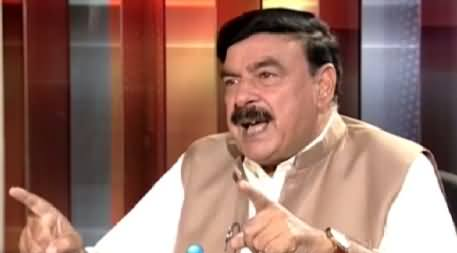Awaz (Sheikh Rasheed Ahmed Exclusive Interview) – 7th July 2015