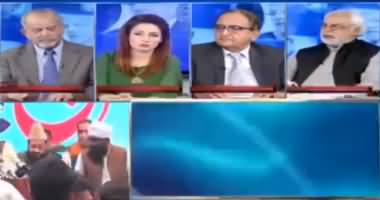 Ayaz Amir Comments on Incident of Shoe Thrown on Nawaz Sharif