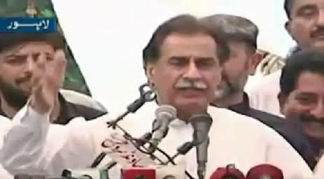 Ayaz Sadiq Speech In NA-122 Jalsa, Lahore – 7th October 2015