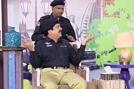 Azizi As SHO Who Got Out of Turn Promotion And Now is Demoted to Sub-Inspector