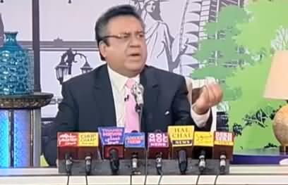 Azizi Doing Press Conference As Daniyal Aziz, Hilarious Performance
