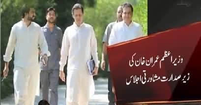 Babar Awan briefed PM Imran Khan over court's decision of suspending Sharifs' sentence
