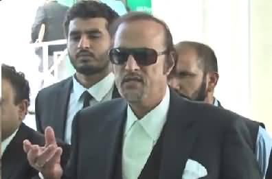 Babar Awan's Complete Media Talk About Imran Khan's Arrest Warrants - 12th October 2017