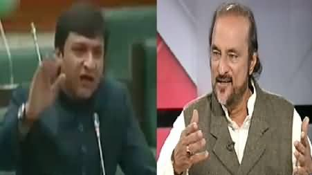 Babar Awan Played Interesting Video to Explain The Reality of Sharif Brothers Promises