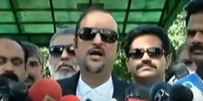 Baber Awan Media Talks Regarding Rejection of Imran Khan's Nomination Papers from NA-53