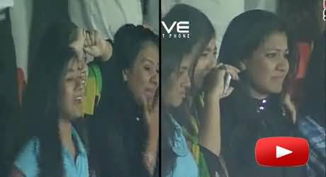 Bangladeshi Girls Crying and Shedding Tears on the Seven Sixers of Shahid Afridi