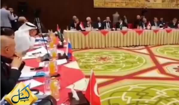 Barrister Saif Expose India in the Asian Parliamentary Association's Meeting in Baghdad