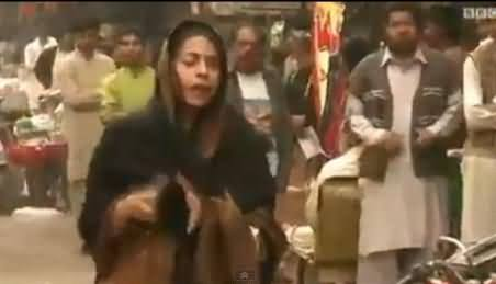 BBC Report on PTI's Lock Down Call in Faisalabad and People's Reaction