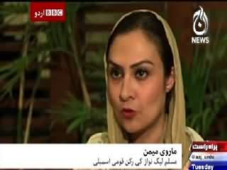 BBC Urdu Sairbeen On Aaj News – 31st March 2015