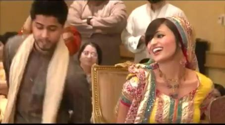 Beautiful Dance of A Married Pakistani Couple in a Wedding Party