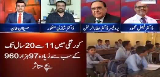 Benaqaab (Coronavirus Cases Among Children Rise in Karachi) - 31st August 2021
