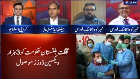 Benaqaab (Pakistan Begins Vaccination of Health Workers) - 3rd February 2021