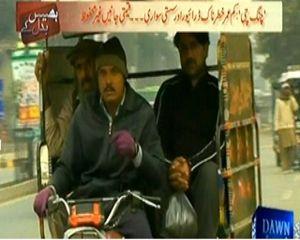 Bhais Badal Kar (Chingi Rikshaws of Karachi Are Cheap Facility) – 27th February 2014