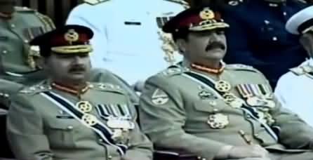 Bharat Ki Jarhiyat Ka Jawab Dena Achi Tarah Jaante Hain - Army Chief Gen (R) Raheel Sharif