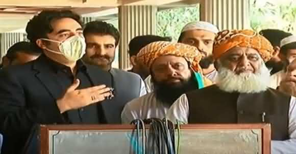 Big Surprise After Eid - Fazal Ur Rehman & Bilawal Bhutto Joint Media About Planning Against Govt