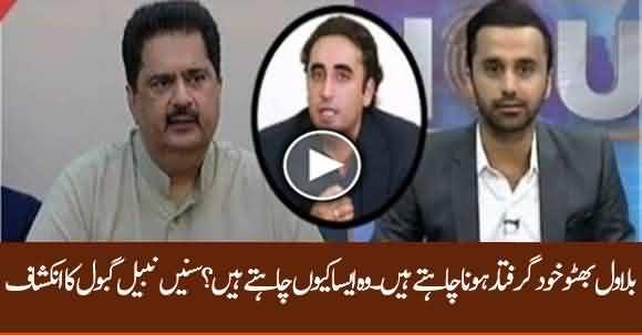 Bilawal Bhutto Himself Wants To Be Arrested - Nabeel Gabol