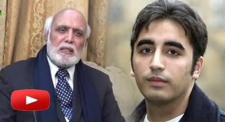 Bilawal Zardari Is A Useless Person, Those Are Idiots Who Give Him Importance - Haroon Rasheed