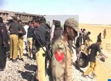 Blast in Jaffar Express going from Rawalpindi to Quetta - 7 died, many injured