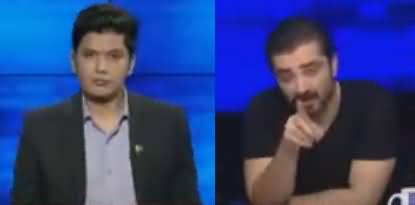 Bol Debate Headquarter (Talk With Hamza Abbasi About Reham's Book) - 3rd June 2018