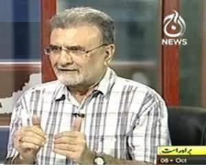 Bolta Pakistan (11 May Elections Ki Saakh Khatre Mein, Baat Kahan Tak Jayegi) - 8th October 2013