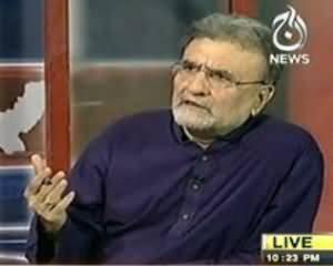 Bolta Pakistan - 25th July 2013 (Saddarti Intekhabat..Kia People's Party Boycott Kare Gi ?)