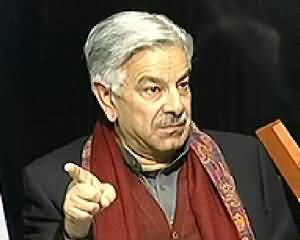Bottom Line (Khawaja Asif Exclusive Interview) - 7th December 2013