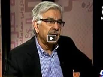 Bottom Line with Absar Alam (Khawaja Asif Exclusive Interview) – 20th February 2015