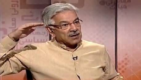 Bottom Line With Absar Alam (Khawaja Asif Exclusive Interview) – 28th May 2015