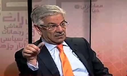 Bottom Line With Absar Alam (Khawaja Asif Special Interview) – 25th June 2015